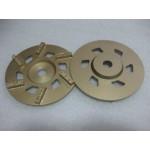 """7"""" (175mm) x 6 SPLIT PCD - Gold"""